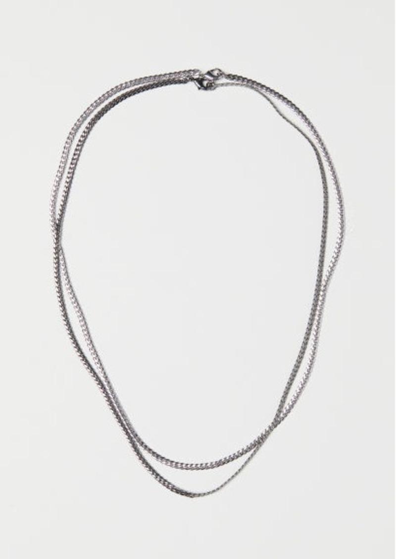 0fc1e6c9138 H & M - 2-pack Necklaces - Silver