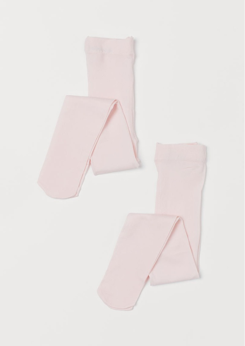 H&M H & M - 2-pack Tights - Pink