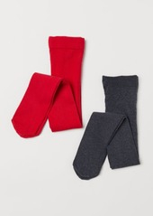 H&M H & M - 2-pack Tights - Red