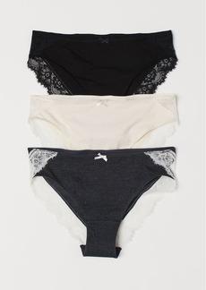 H&M H & M - 3-pack Bikini Briefs - Gray