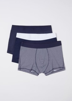 H&M H & M - 3-pack Short Boxer Shorts - Blue