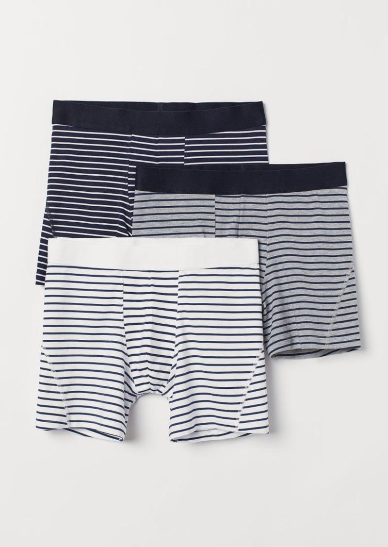 H&M H & M - 3-pack Boxer Shorts - Blue