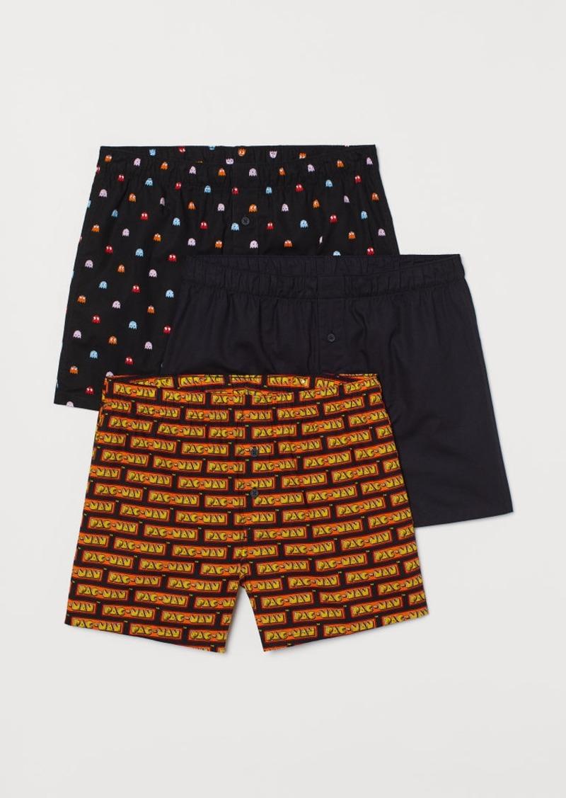 H&M H & M - 3-pack Boxer Shorts - Orange