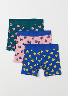 H&M H & M - 3-pack Boxer Shorts - Pink
