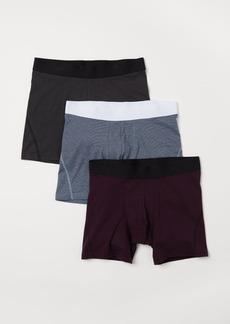 H&M H & M - 3-pack Boxer Shorts - Purple