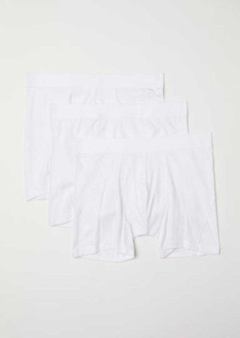 H&M H & M - 3-pack Boxer Shorts - White