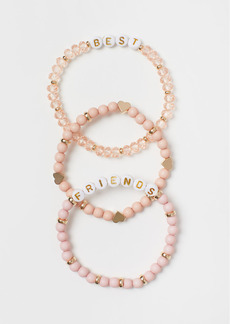 H&M H & M - 3-pack Bracelets - Pink