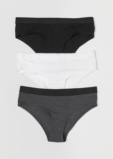 H&M H & M - 3-pack Hipster Briefs - Gray