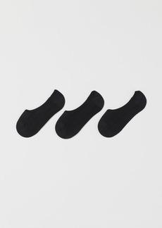 H&M H & M - 3-pack Liner Socks - Black