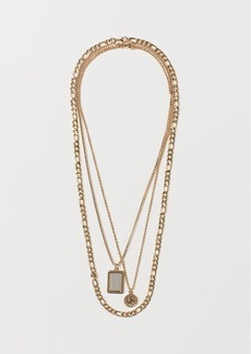 H&M H & M - 3-pack Necklaces - Gold
