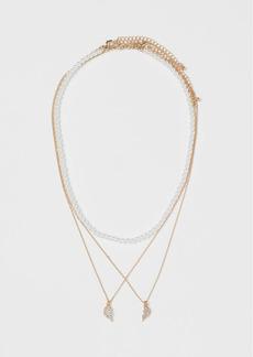 H&M H & M - 3-pack Necklaces - Gold