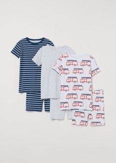 H&M H & M - 3-pack Pajamas - White