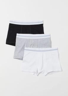 H&M H & M - 3-pack Short Boxer Shorts - White