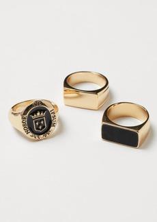 H&M H & M - 3-pack Signet Rings - Gold