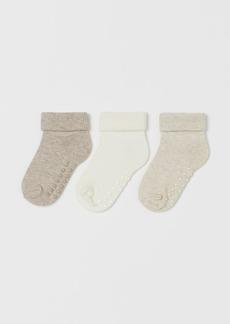 H&M H & M - 3-pack Socks - Brown