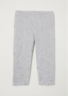 H&M H & M - 3/4-length Leggings - Gray