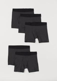 H&M H & M - 5-pack Boxer Shorts - Black