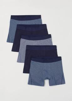 H&M H & M - 5-pack Boxer Shorts - Blue