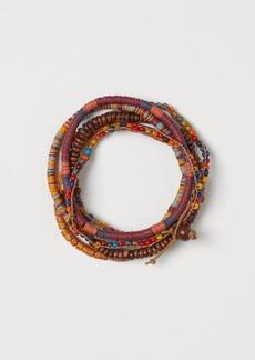 H&M H & M - 5-pack Bracelets - Beige