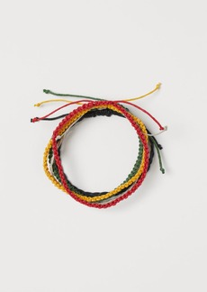 H&M H & M - 5-pack Bracelets - Red