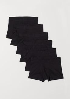 H&M H & M - 6-pack Short Boxer Shorts - Black