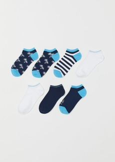 H&M H & M - 7-pack Ankle Socks - Gray