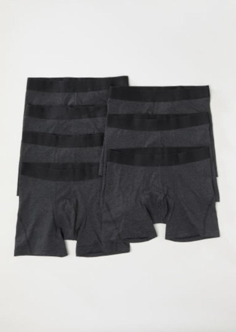 H&M H & M - 7-pack Boxer Shorts - Black