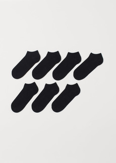 H&M H & M - 7-pack Liner Socks - Black