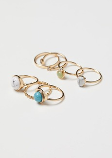 H&M H & M - 7-pack Rings - Gold