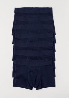 H&M H & M - 7-pack Short Boxer Shorts - Blue