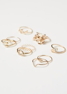 H&M H & M - 9-pack Rings - Gold