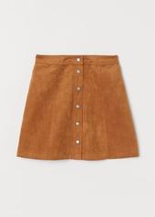 H&M H & M - A-line Skirt - Beige