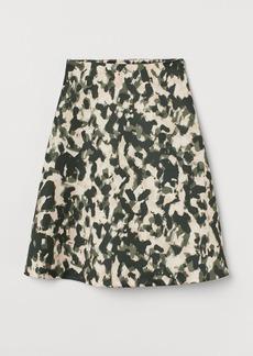 H&M H & M - A-line Skirt - Black