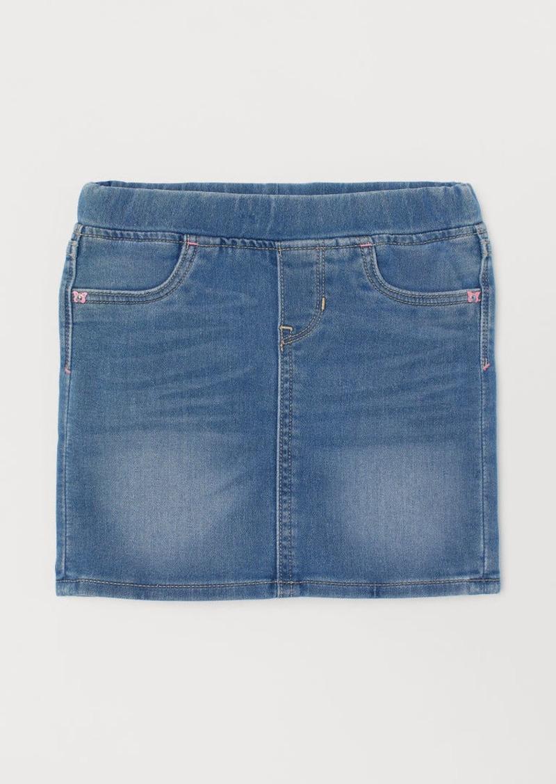 H&M H & M - A-line Skirt - Blue