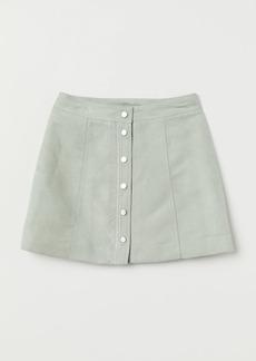 H&M H & M - A-line Skirt - Green