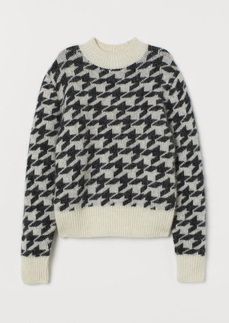 H&M H & M - Alpaca-blend Sweater - Black