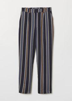 H&M H & M - Ankle-length Pants - Blue