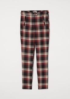 H&M H & M - Ankle-length Twill Pants - Black