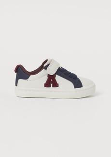 H&M H & M - Appliquéd Sneakers - White