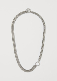 H&M H & M - Asymmetric Necklace - Silver