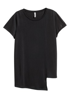 H&M H & M - Asymmetric Top - Black