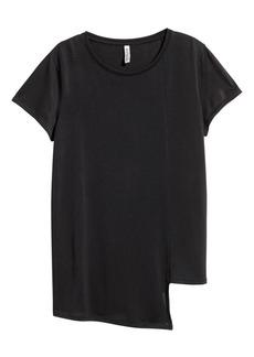 H&M H & M - Asymmetric Top - Black