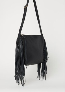 H&M H & M - Bag with Fringe - Black