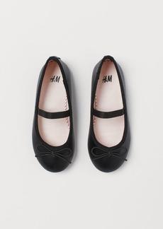 H&M H & M - Ballet Flats - Black