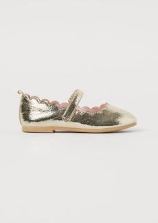 H&M H & M - Ballet Flats - Gold