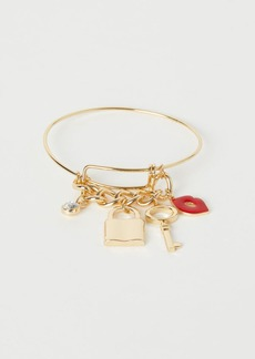 H&M H & M - Bangle with Pendants - Gold