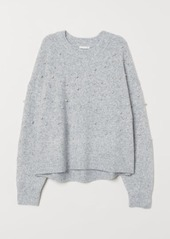 Hm h  m   bead embroidered sweater   gray abv2a39ebf7 a