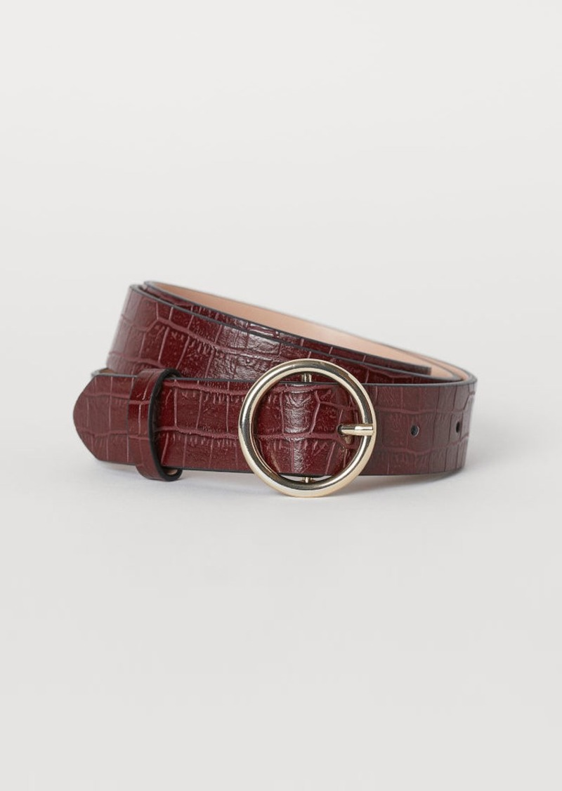 H&M H & M - Belt - Red