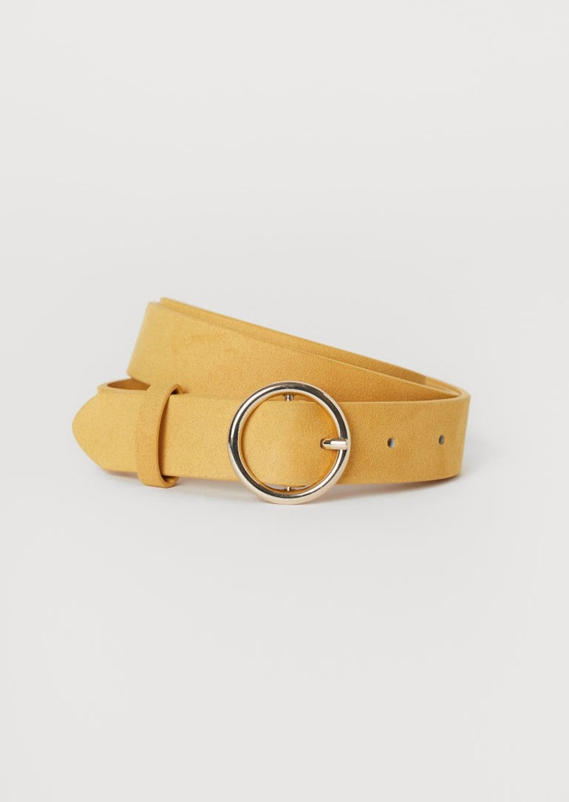 H&M H & M - Belt - Yellow