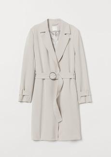 H&M H & M - Belted Coat - Brown